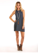 Women's Panhandle Dress, Navy, Tank Top Style