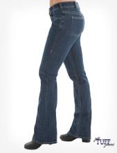 Women's Cowgirl Tuff Jean, Just Tuff, Medium Wash