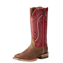 Men's Relentless Boot, Elite, Dust Devil Tan Vamp, Red Top