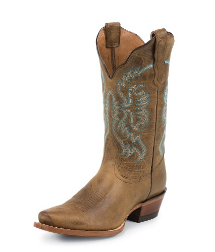 "Women's Nocona Boot, Old West Tan, 11"", Snip Toe"