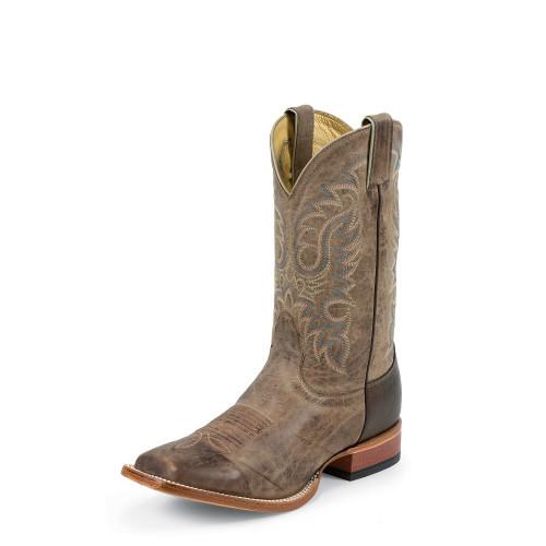 Men's Nocona Boot, Tan Vintage Cow Hide, Square Toe
