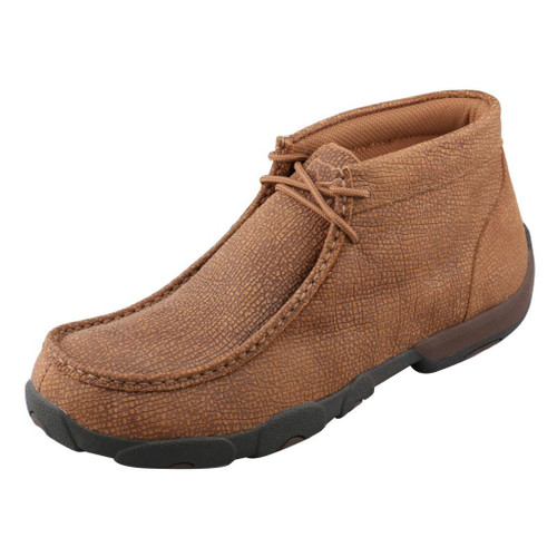 Men's Twisted X Driving Moc, Distressed Grain