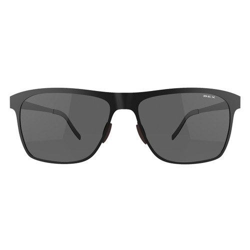 Bex Sunglasses, Roxynn, Black Frame Gray Lens