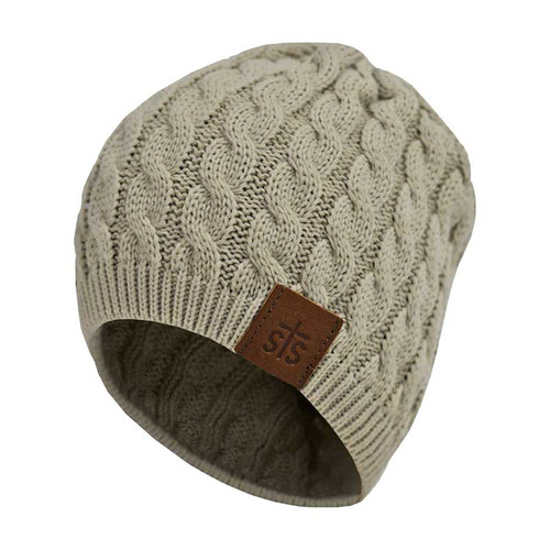 Women's STS Beanie, Cream
