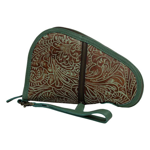 STS Pistol Case, Jade and Brown