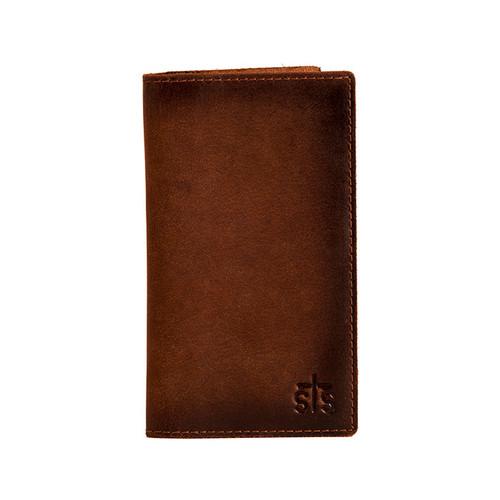 Men's STS Wallet, Long Bi-Fold, Brown, Foreman's