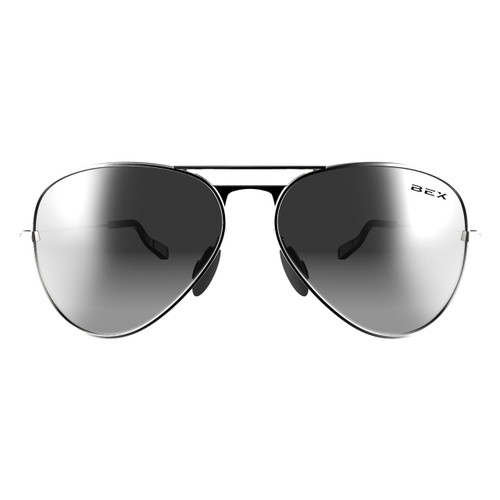 Bex Sunglasses, Silver/Gray Wesley
