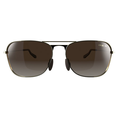 Bex Sunglasses, Gold/Brown Ranger