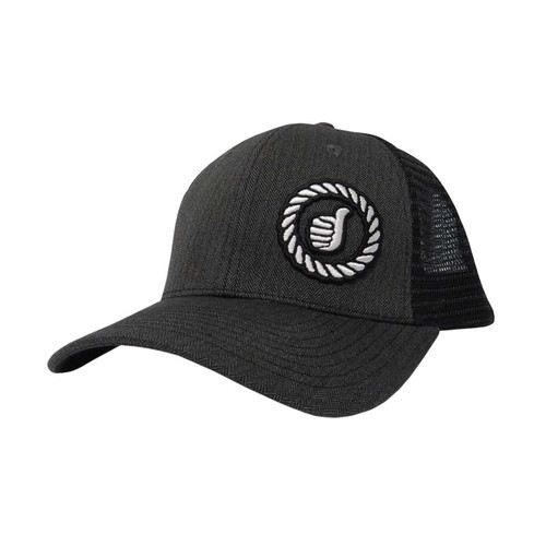 Men's Dally Up Cap, Gray Herring and Black