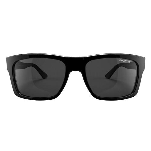 Bex Sunglasses, Black Frame, Gray Lens, Braddish
