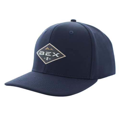Men's Bex Cap, Plated, Navy and Orange