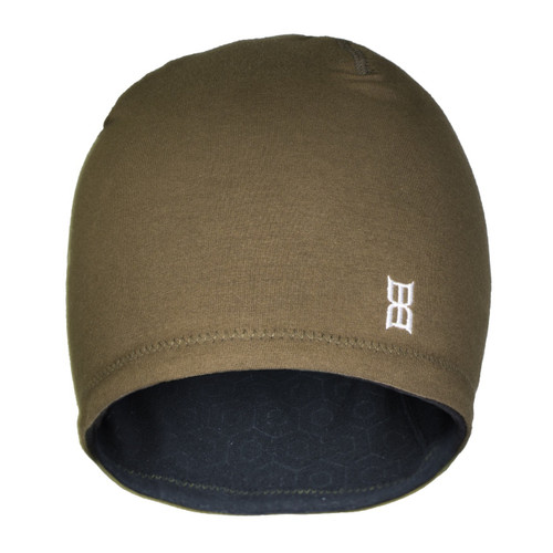 Men's Bex Beanie, Hexed, Brown