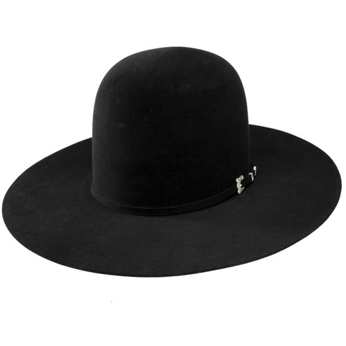 "Resistol Felt Hat, Black Gold, 20X, 4"" Brim, Unshaped"