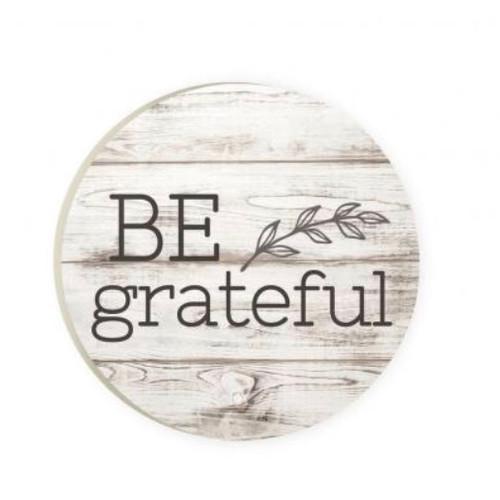 PGD Car Coaster Singles, Be Grateful