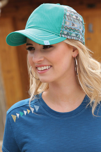 Women's Green Cruel Girl Hat
