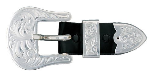 Montana Buckle, Plain ¾, 3 Piece Set