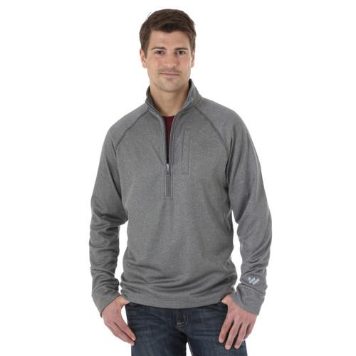 Men's Wrangler Sweatshirt, Cool Vantage, Gray