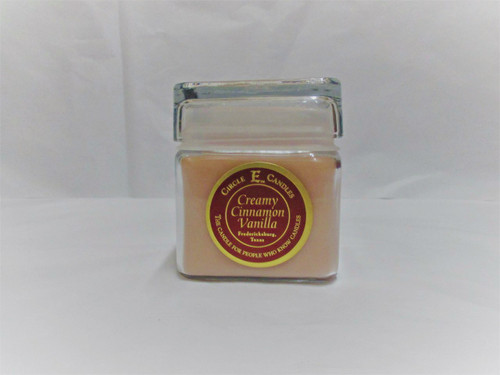 Circle E Candle, Creamy Cinnamon Vanilla 12 oz.