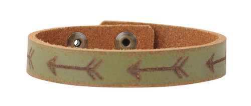 Most Wanted USA Bracelet, Laser Tooled Arrows