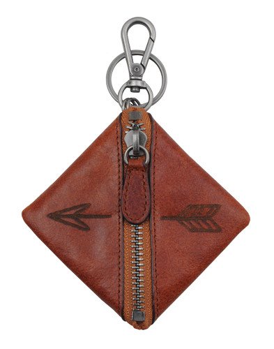 Most Wanted USA Keychain, Zip Wallet with Arrows