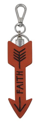 Most Wanted USA Keychain, Faith Arrow