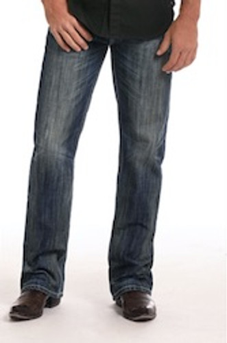 Men's Rock & Roll Jeans, Double Barrel Bootcut, Dark Wash