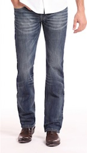 Men's Rock & Roll Jeans, Pistol Regular Bootcut, Dark Wash