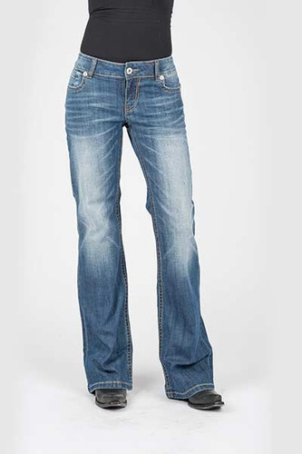 Women's Stetson Jean, Trouser Fit, Diagonal Pocket