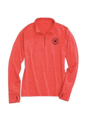 Women's Tin Haul Pullover, 1/4 Zip Up, Pink