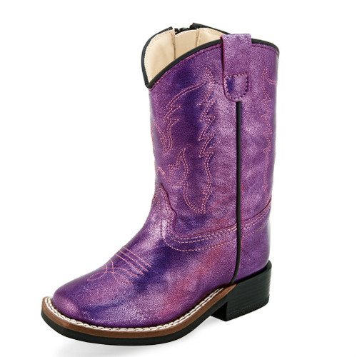 Toddler Old West Boots, Purple