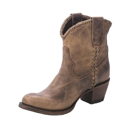 Women's Lane Boots, Plain Jane Shortie, Brown