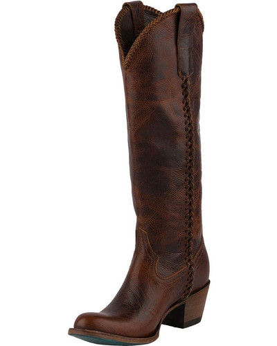 Women's Lane Boots, Plain Jane, Cognac