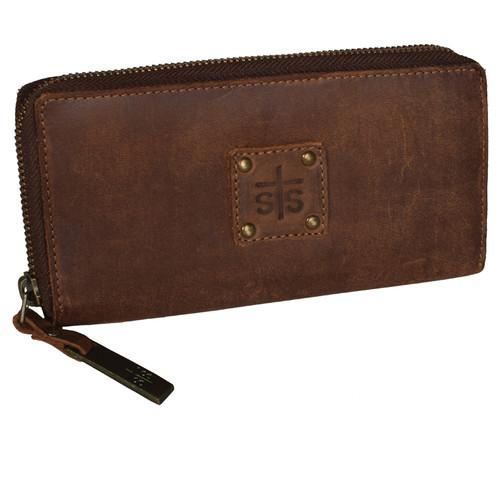 Women's STS Wallet, Baroness, Bi Fold, Brown