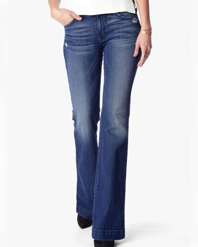 Women's 7FAMK Jean, Dojo, Lake Blue, Tailorless