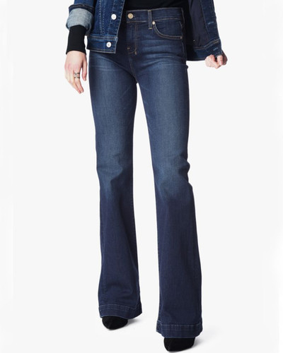 Women's 7FAMK Jean, Dojo, Santiago Canyon, Dark Wash