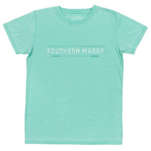 Women's Southern Marsh Tee, Rustic Trademark, Mint