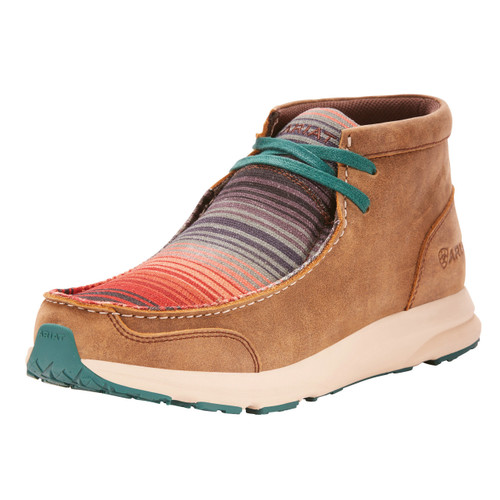 Women's Ariat Shoe, Spitfire, Bomber with Serape Top