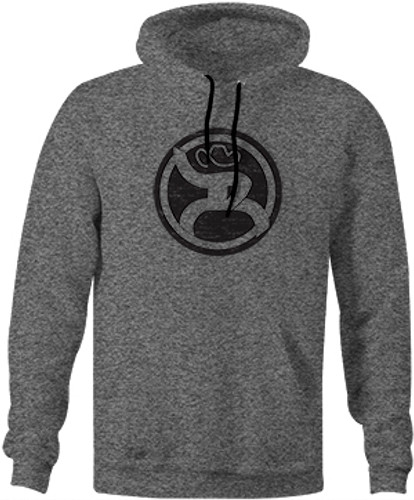 "Men's Hooey Hoodie, ""Roughy 2.0"" Heather Gray"
