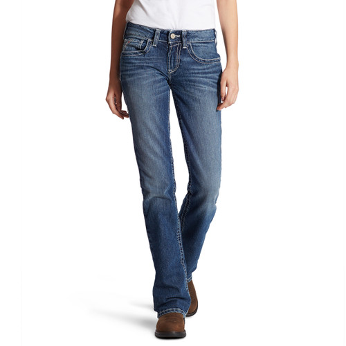 Women's Ariat Jeans, FR, Entwined Oceanside