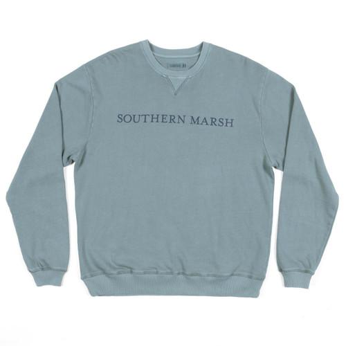 Men's Southern Marsh Sweatshirt, Seawash, Burnt Sage