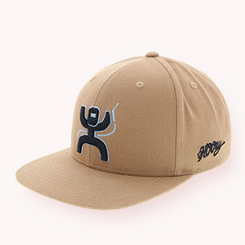 "Men's Hooey Cap, ""Arc"" Tan Snapback"