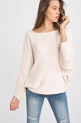 Women's Wishlist Sweater, Batwing Sleeve