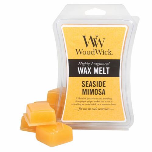 Wood Wick Wax Melt, Seaside Mimosa