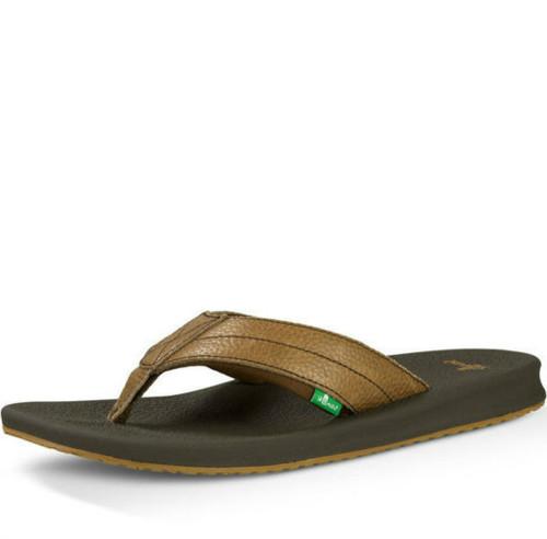 Men's Sanuk Flip Flop, Brumeister Primo