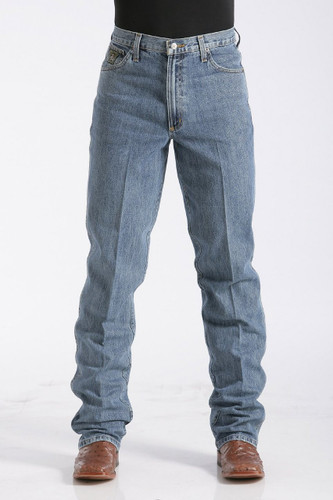 Men's Cinch Jeans, Green Label Medium Stonewash