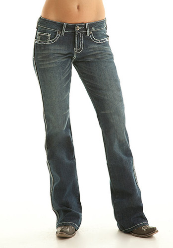 Women's Cowgirl Tuff Jean, Crystal Pocket