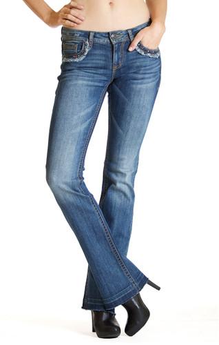 Women's Grace in LA Jeans, Unhemmed