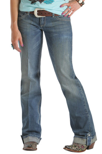 Women's Grace in LA Jeans, Feather Pocket