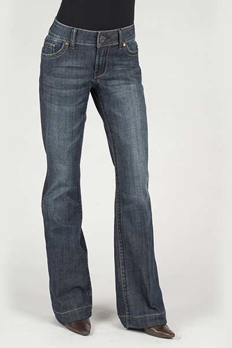 Women's Stetson Jeans, Trouser Fit, S Pocket