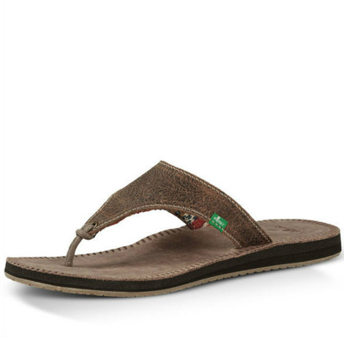Women's Sanuk Sandal, Mosey Up, Brown